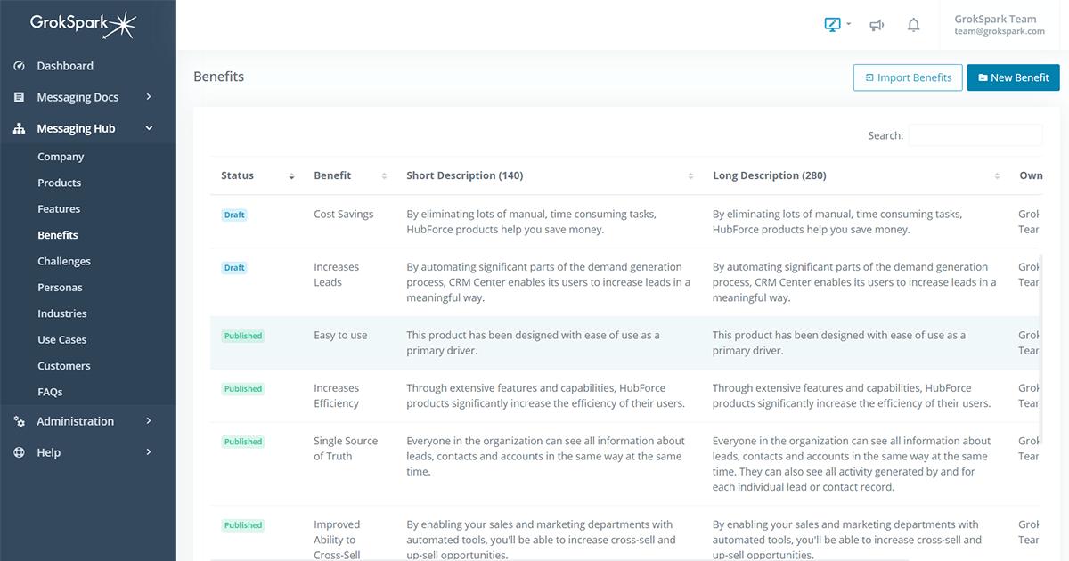 GrokSpark Modular Messaging Framework