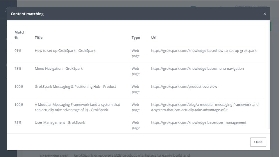 GrokSpark Screenshot